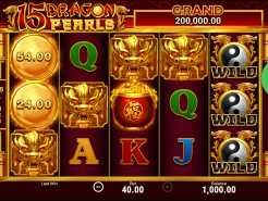 15 Dragons Pearls Hold and Win Slots
